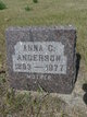 Anna Christina <I>Peterson</I> Anderson