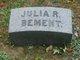 Julia <I>Robinson</I> Bement