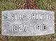 Profile photo:  Achsah <I>Griffin</I> Champlain