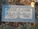 Profile photo:  Clyde C. Cobb