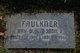 Profile photo:  Ray W. Faulkner