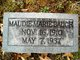 Profile photo:  Maudie Marie <I>Hines</I> Baugh