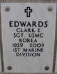 Profile photo:  Clark Eugene Edwards