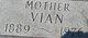 Vyan Annie <I>Foster</I> Abbe