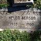 Profile photo:  Helen <I>Huson</I> Benson