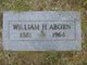 Profile photo:  William Henry Aborn