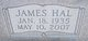 James Hal Hanson