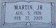 Martin VanBuren Andrews, Jr