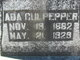 Profile photo:  Ada Lee Martin <I>Doss</I> Culpepper
