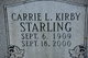 Profile photo:  Carrie Lou <I>Kirby</I> Starling