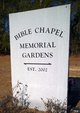 Bible Chapel Memorial Gardens