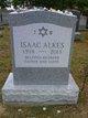 """Isaac """"Ishy"""" Alkes"""