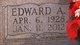 Profile photo:  Edward Allen Rawls, Sr