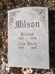 Profile photo:  Ada Mary Wilson