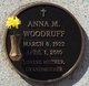 Profile photo:  Anna M Woodruff