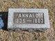 Profile photo:  Anna C. <I>Moorman</I> Deppe