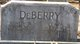 Profile photo:  Abner William DeBerry, Sr