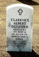 Profile photo:  Clarence Albert Dunford, Jr