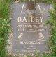 Profile photo:  Arthur W. Bailey, Sr