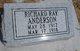 Richard Ray Anderson