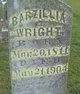 Profile photo:  Barzillia Wright