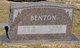 "Profile photo:  Clarence D. ""Bud"" Benton"