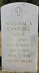 William A Carroll