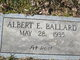 Profile photo:  Albert E Ballard
