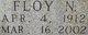 Floy Novella <I>Overbey</I> Rhodes