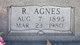 Rosa Agnes <I>Cook</I> Rhodes