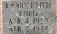 Larry Keith Ford