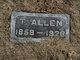 Profile photo:  T. Allen