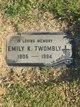 Profile photo:  Emily K. Twombly
