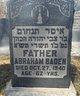 Profile photo:  Abraham Baden