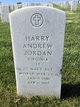 Harry Andrew Jordan