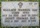 Wallace Warren Day