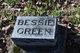 Profile photo:  Bessie Green
