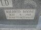 Profile photo:  Mildred <I>Boone</I> Arnold