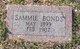 Profile photo:  Sammie Bonds