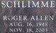 Roger Allen Schlimme