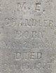 Martha E. <I>Newell</I> Chandler