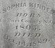 Sophia <I>Limbaugh</I> Kinder
