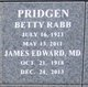 Profile photo:  Betty <I>Rabb</I> Pridgen