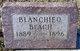 Profile photo:  Blanchie O Beach