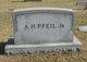 Profile photo:  A. H. Pfeil, Jr