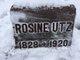 Rosine Barbara <I>Bollinger</I> Utz
