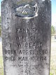 "Frances ""Fannie"" <I>Williams</I> Beard"