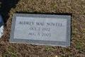 Profile photo:  Audrey Mae <I>Poore</I> Nowell