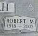 """Robert Max """"Bonnie"""" Harrah"""