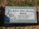 Profile photo:  Alice Pat <I>Ross</I> Been